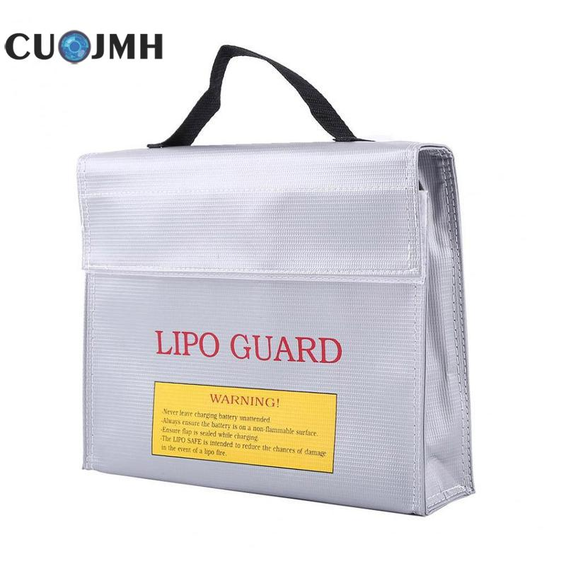 1 Pcs Safe Bag Explosion proof Guard Charging Protection Battery Safe Bag Model Aircraft Battery Fire Proof Explosion Proof Bag industrial crane with bak21 explosion proof control button qidong new dawn explosion proof handle