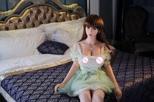 Image 2 - Bonecas sexuais 158cm #22 tpe completo com esqueleto adulto japonês amor boneca vagina realista buceta sexy boneca para homem