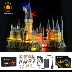 LIGHTAILING Ha Condotto La Luce Up Kit Per Hogwart del Castello di Luce Set Compatibile Con 71043 (Non Include Il Modello)