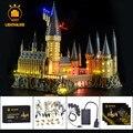 LIGHTAILING Led Light Up Kit Para O Castelo de Hogwarts Harry Potter Conjunto Luz Compatível Com 71043 (para Não Incluir O modelo)