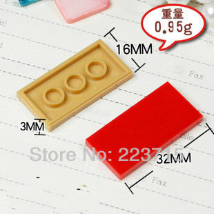 Free Shipping! *Flat Tile 2x4* DIY enlighten block bricks,Compatible With Assembles Particles