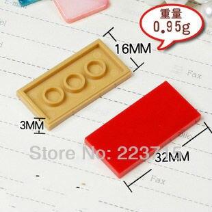 Бесплатная доставка! 87079 50 шт * плоская плитка 2x4 * DIY просветленные блоки кирпичи, совместимы с сборками частиц