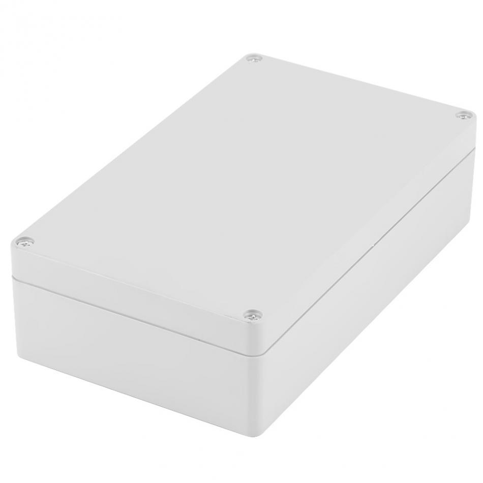 Waterproof IP65 Plastic Project Enclosure Case Wiring Junction Box Electronic Project Instrument Case 200x120x56mm 1 piece lot 160 110 90mm grey abs plastic ip65 waterproof enclosure pvc junction box electronic project instrument case