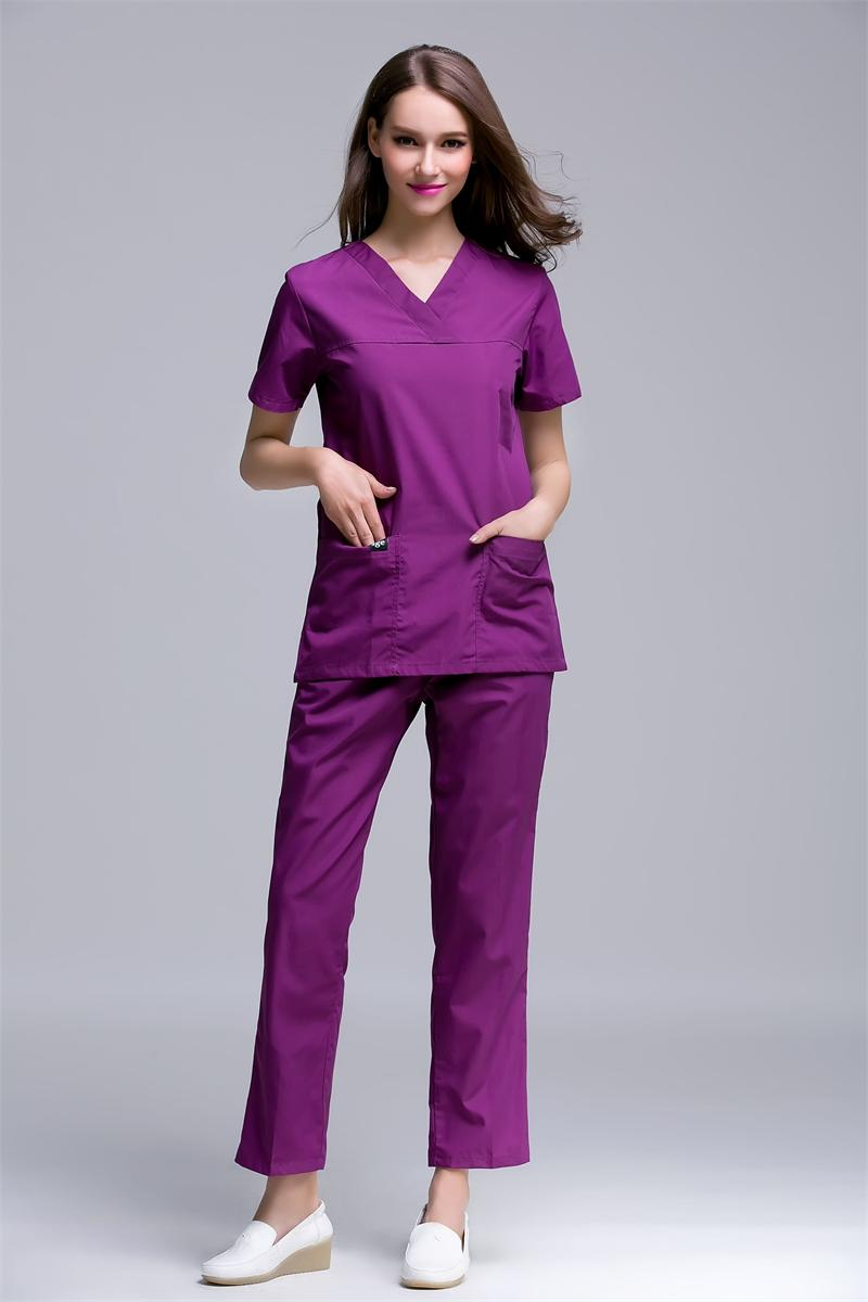 d26e6159386 Surgical Cap Limited 2017 Medical Clothing Uniform Hospital Lab Coat Korea  Style Women Scrub Clothes Fashion Design Breathable -in Scrub Sets from  Novelty ...