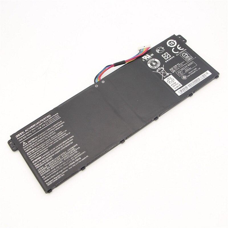 15.2V 48Wh Original Battery For  Acer Chromebook 13 Aspire E3-111 TravelMate B115-M Built-in Battery  Free shipping mx3 battery 3 battery m351 m355 phone b030 original built in battery