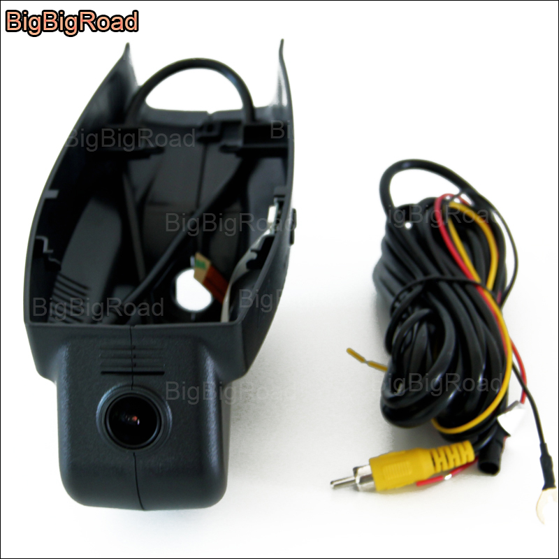 BigBigRoad For BMW 3 5 7 series before 2012 / f10 z4 e9 Car wifi DVR Driving Video Recorder hidden Installation Car black box