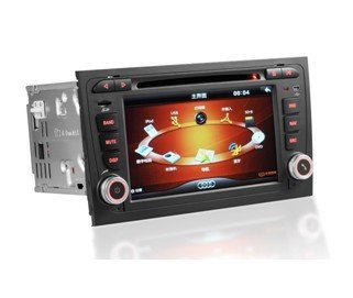 car dvd gps  and dvd player for audi a4 2002-2007