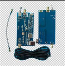 1 pc sdr upconverter Upconverter 125MHz ADE para rtl2832 + r820t2 receptor, hackrf um