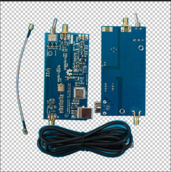 1PC SDR Upconverter Upconverter 125MHz ADE FOR  rtl2832+r820T2 receiver, HackRF One
