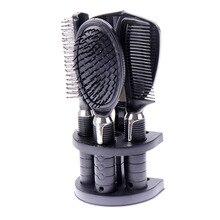 5Pcs set Hairbrush Travel Combs Peine Salon font b Hair b font Comb Set Tangle font