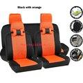 Universal assento de carro capas Para Hyundai Accent Solaris i30 Tucson ix35 carro-cobre acessórios styling preto/cinza/vermelho