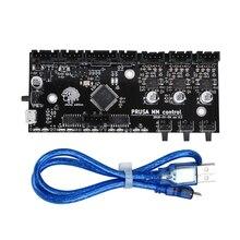 3D プリンタ部品クローニング i3 MK3 MMU2 ボードマルチ素材 2.0 アップグレードミリメートル制御ボードと TMC2130 チップ用 3D Printe