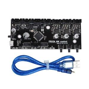 Image 1 - Części drukarki 3D sklonowane i3 MK3 MMU2 pokładzie wielu materiał 2.0 upgrade MM płyta sterowania z TMC2130 Chip kontroler dla 3D Printe