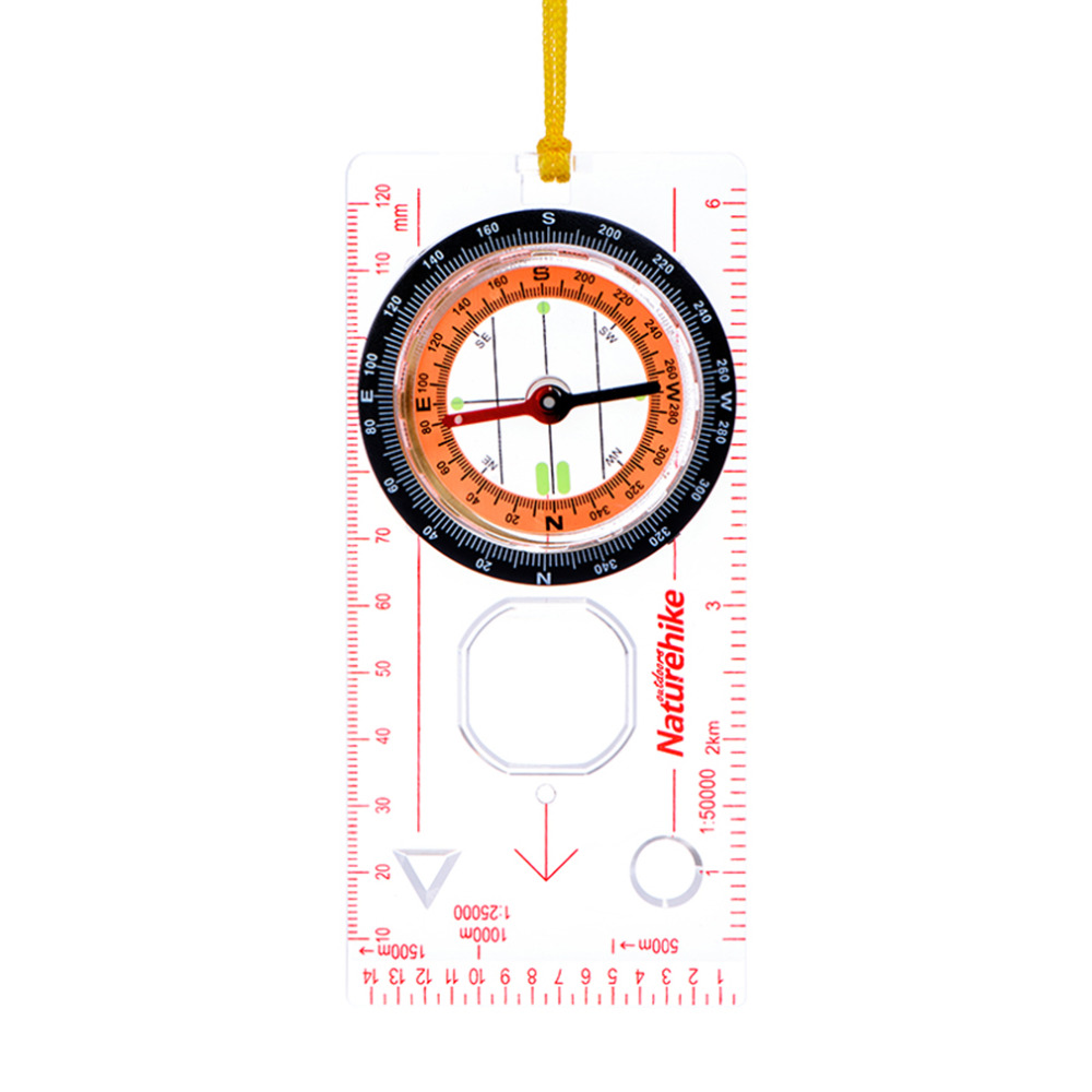 Naturehike Transparent compass Direction Guide Orienteering Scouts Army Survival Camping Outdoor new