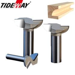 Tideway 1 sztuk 1/2 Shank drewna szuflady frezy CNC uchwyt do narzędzi w kształcie paznokci frez nóż do drewna wolframu frez trzpieniowy|Frez|Narzędzia -