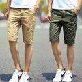 Мужские Шорты Новая Мода Марка Slim Fit Хлопок Летом Случайные Отпечатано Поло Шорты Homme Высокое Качество Пляж Boardshorts
