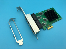 4 Port PCI Express Gigabit Network Card Ethernet Adapter 10/100/1000M for Server