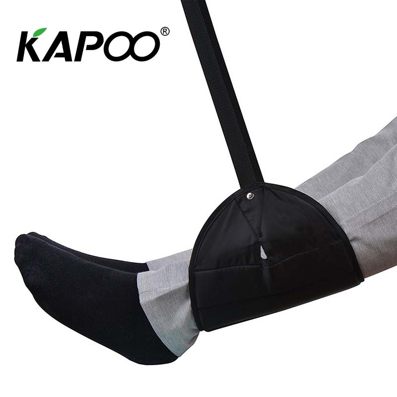 Airplane travel foot hammock high iron foot foot hammock outdoor travel artifact foot hammock soft and comfortable travel dedicated lazy people pedal foot rest for airplane high speed railway