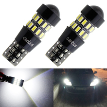 2pcs T10 LED Canbus Bulb Light W5W 194 3014 30 SMD 12V Car Interior Clearance Bulbs Backup Reverse Parking