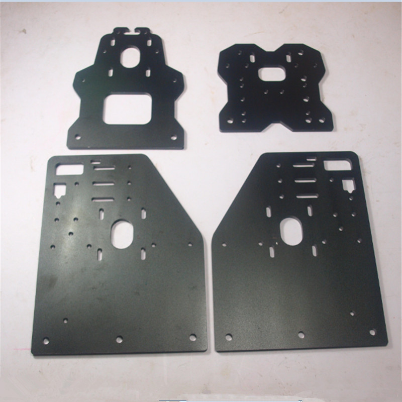 OX CNC machine parts update version OX Gantry plates kit ...