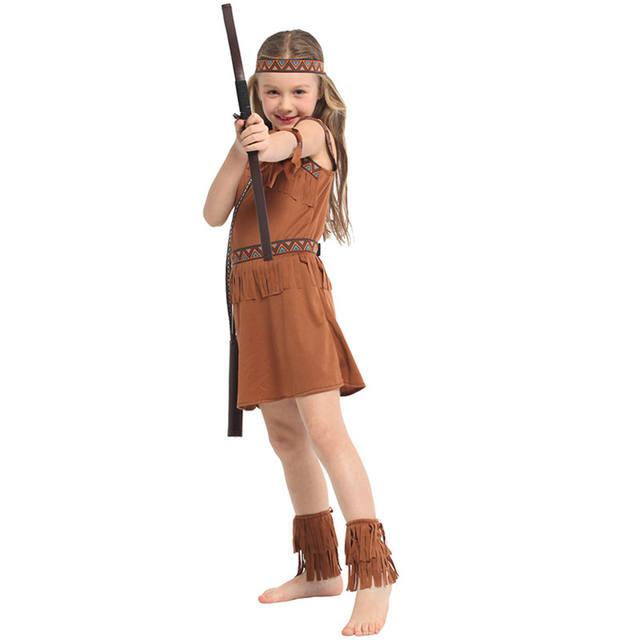 Girls Halloween Hunter's Dress