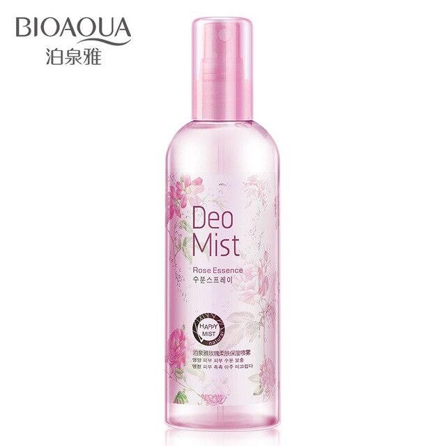 2016 Oferta Especial de La Venta Caliente Unisex Blanqueamiento antienvejecimiento Rosa Spray Hidratante de Control de Aceite de La Piel Y Aliviar Poros Genuino