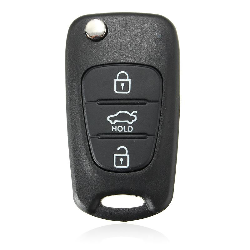 Remote-Key-Case IX35 Folding Hyundai I30 K5 KIA 3-Buttons Flip for K2 PP ABS ABS title=