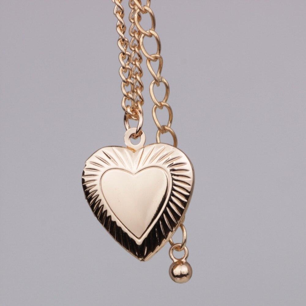 f061f1ba42c1 Aleación de moda colgante collar lindo caja de la foto del corazón para las  mujeres corazón colgante collar Nueva joyería foto caja puede abrir YP2727