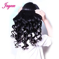 JAYCEE HAIR Loose Wave Human Hair Bundles Indian Hair Weaves Bundles 8 26 Free Shipping Only One Piece