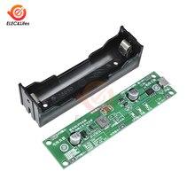 5 в микро USB 18650 литиевая батарея зарядное устройство UPS преобразователь напряжения UPS модуль источника бесперебойного питания Повышающий Модуль зарядки