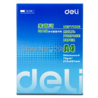 Deli 7400 Rhine Copy Paper A4 70g 500 sheets / pack single package
