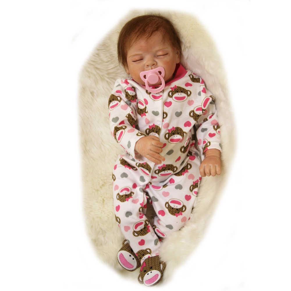 """OtardDolls настоящая кукла реборн для мальчиков и девочек Рождественский подарок 22 """"Одежда для куклы силиконовые reborn куклы Bebe живые возрожденная менина bonecas"""