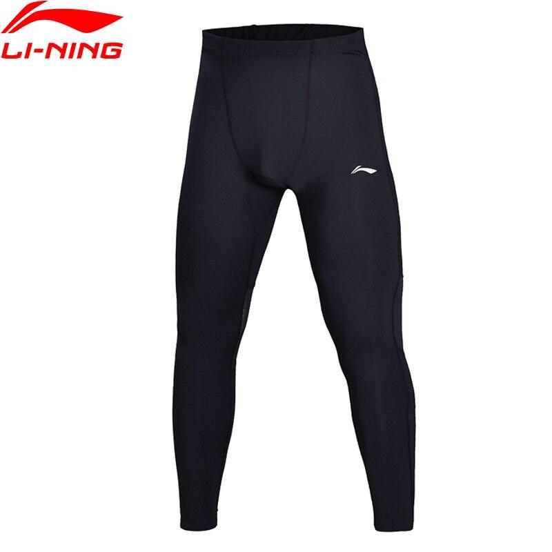 Li-Ning Men Running Jogger Layer Pants Tight Fit Comfort Fitness 78%Nylon 22%Spandex LiNing Sports Pants AULN001 MKY354