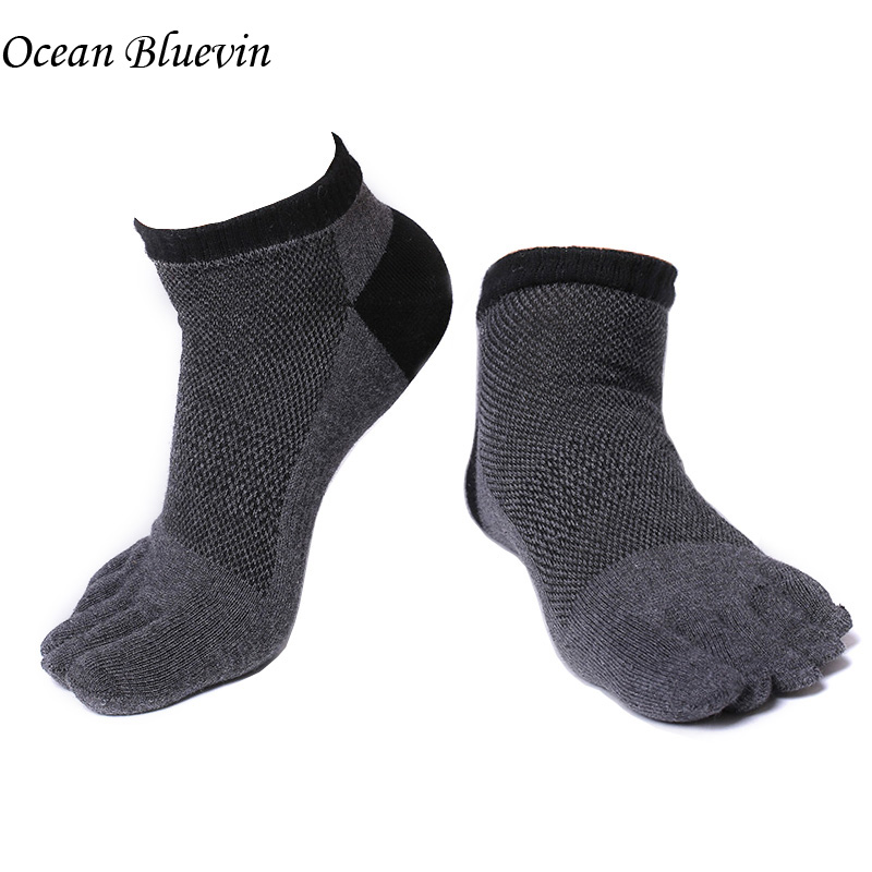 Underwear & Sleepwears Shop For Cheap 1 Pair Mens Cotton Toe Sock Pure S Five Finger Socks Breathable 6 Colors New