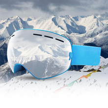 Ski Glasses Double Anti-Fog New Adult Lens UV400 Motocross Goggles Masks Or