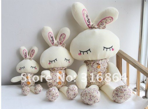 40 см 20 шт./лот и розничная плюшевые игрушки кролика мягкие игрушки Рождество подарок поставка фабрики