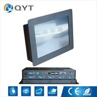 10 Inch 8GB RAM DDR3 800x600 Led Ip65 Industrial Computer Mini Tablet Pc With 6 RS232