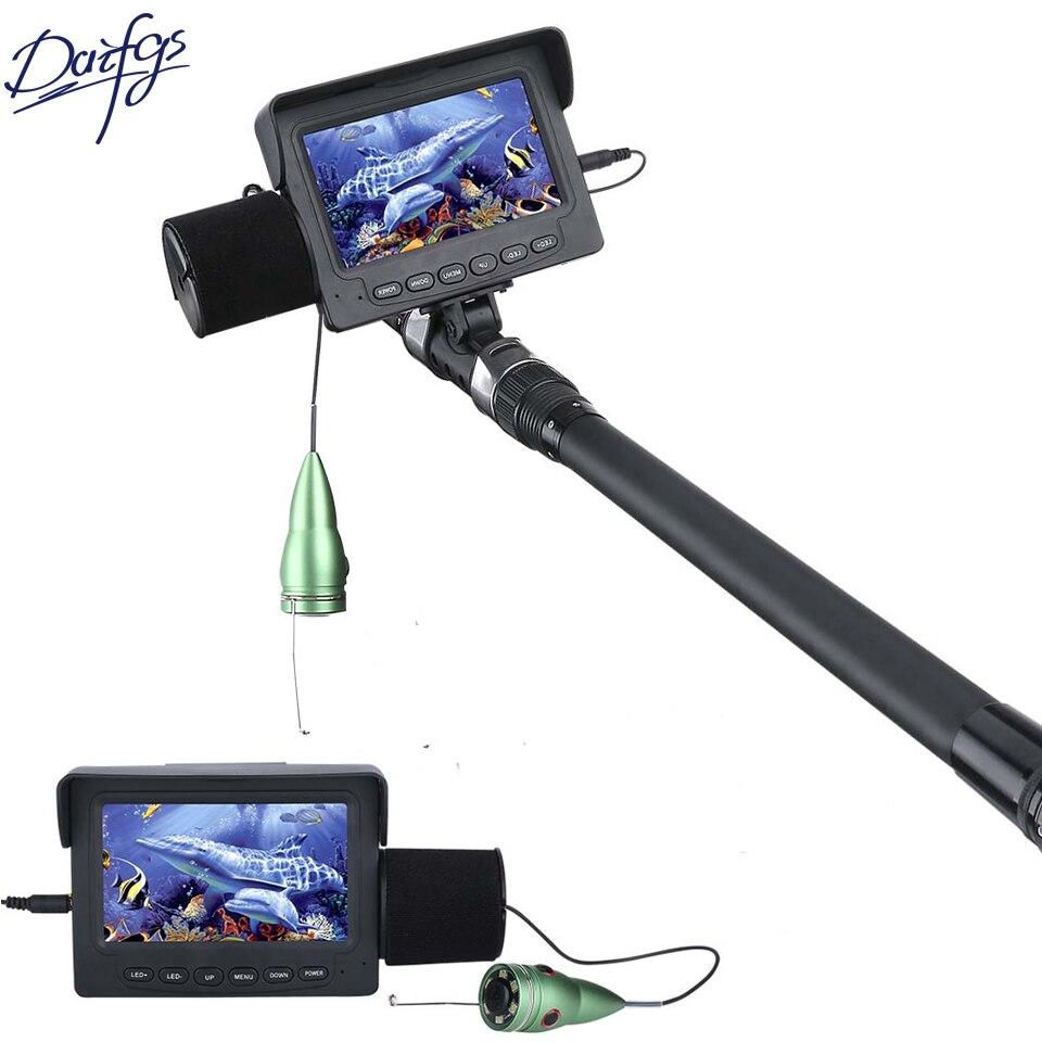 Daifgs caméra vidéo de pêche sous-marine 15/30 M 1000TVL 4.3