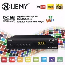 ONLENY DVB-S2 HD Media Player Set top Box Digital Satellite TV Box Receiver Support 3G Wifi with EU Plug