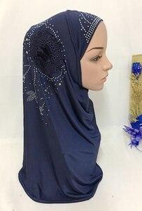 Image 5 - Islamitische Dames Hoofd Sjaal Hoofddeksels Moslim Hijab Innerlijke Cap Wrap Shawl Sjaal Ramadan Arabische Amira Hoofddoek Volledige Cover Tulband Hijab