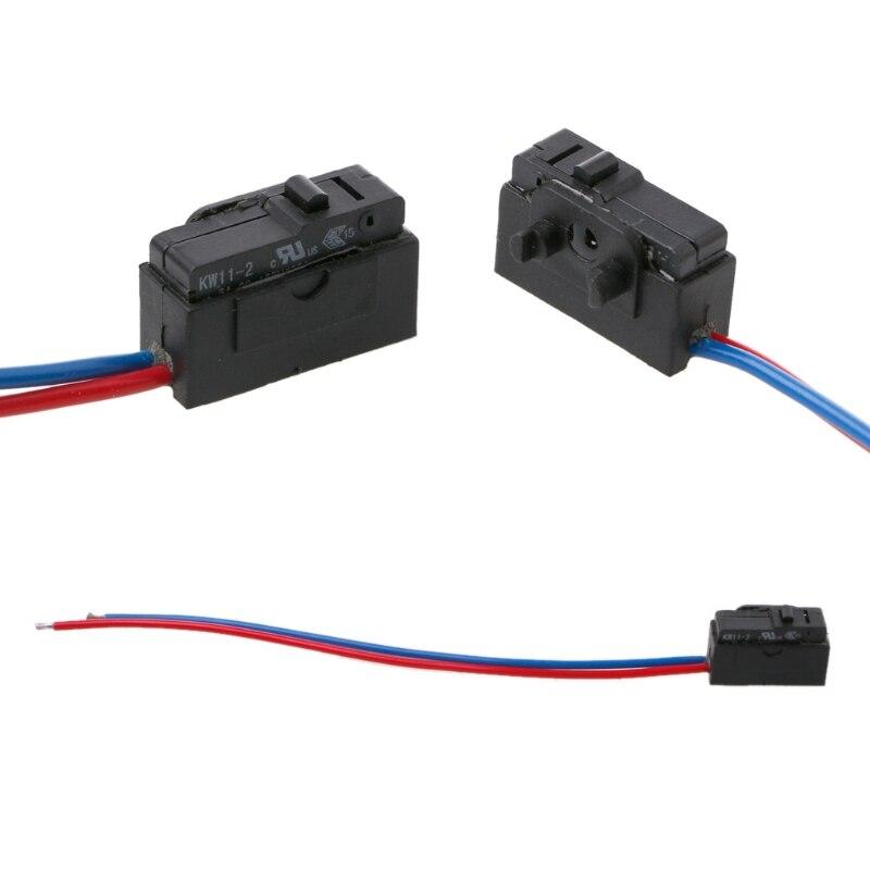 Micro interruptor de bloqueo de Sensor de puerta derecha para Octavia Fabia superb Passat B5 Bora Golf 4 MK4 para accesorios de coche