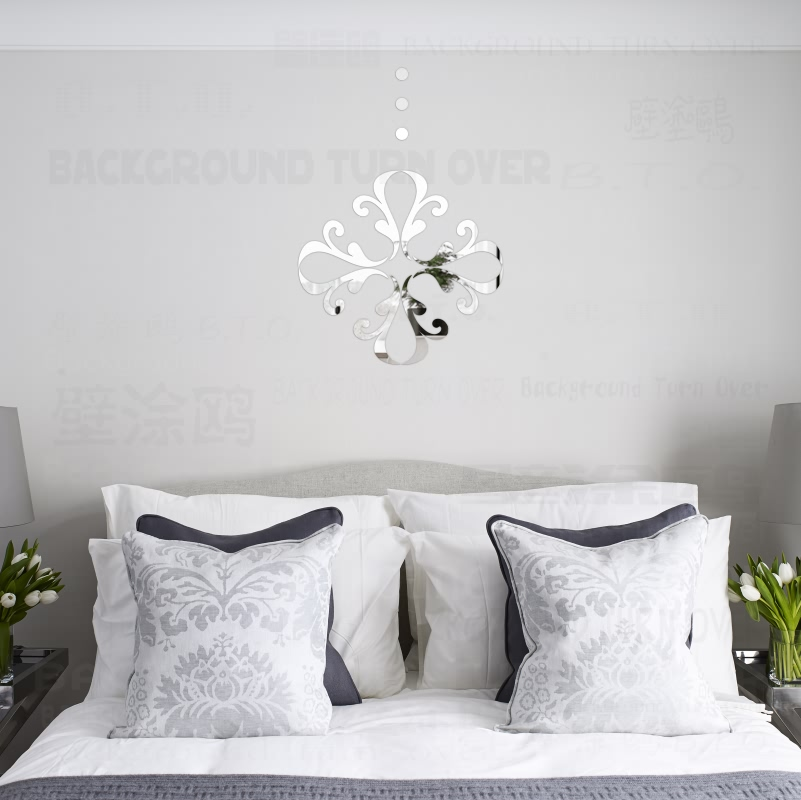 Aliexpress.com : Buy Creative Flower Pattern Decorative 3D Acrylic Mirror Wall  Stickers Living Room Bedroom Door Decoration Home Decor Decal Art R119 From  ... Part 78