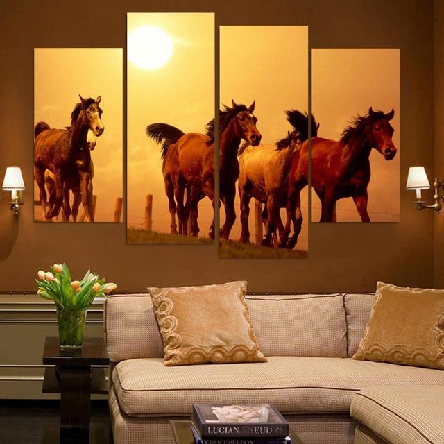 Resultado de imagem para decoração de quadro na parede com paisagem