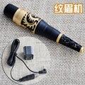 Dragão de ouro com preto sobrancelha caneta máquina de maquiagem permanente com fonte de alimentação 15000 - 25000 r / min