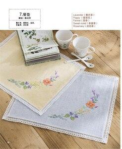 Image 4 - Японские книги ручной работы с вышивкой для 22 ванильных цветов, 19 дюймов, красивые и элегантные книги/Базовая вышивка Zero