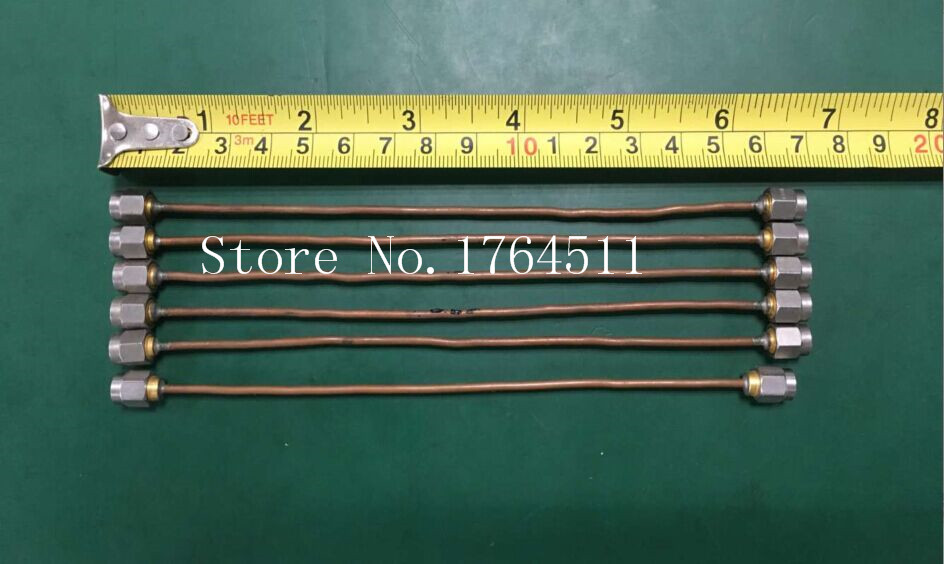 [BELLA] SMA-JJ/SMA -SMA DC-20GHZ 0.17m Imported RF Microwave Tube Test Cable  --10PCS/LOT