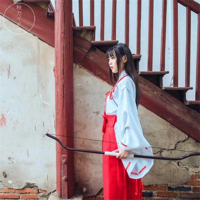 Аниме косплей кимоно Инуяша 2