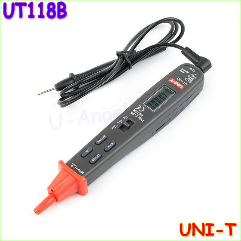 UNI-T UT118B Digital Ammeter Multitester Professional Handheld Pen Type Multimeters Tester Multimetro LCR Meter  цены