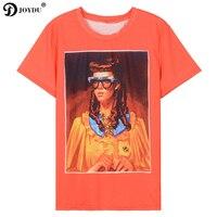 JOYDU 2018 New Brand Summer Top Tees Runway Women S Shirt Short Sleeve Lolita Vintage Girl