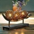 Настольные лампы LO8103 в виде кокосового ореха  декоративные прикроватные украшения  оригинальный стиль